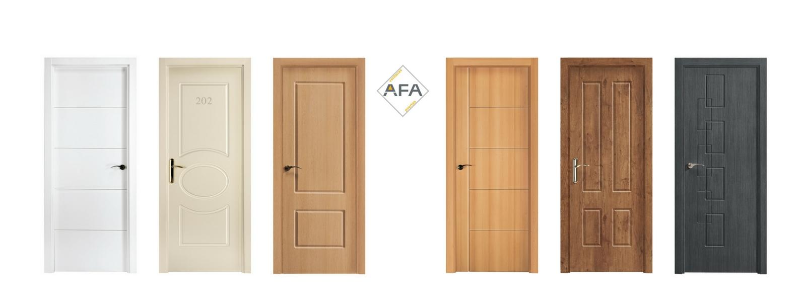 puertas de paso pvc afapvc
