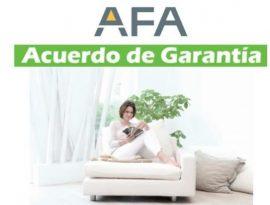 acuerdo de garantía AFA