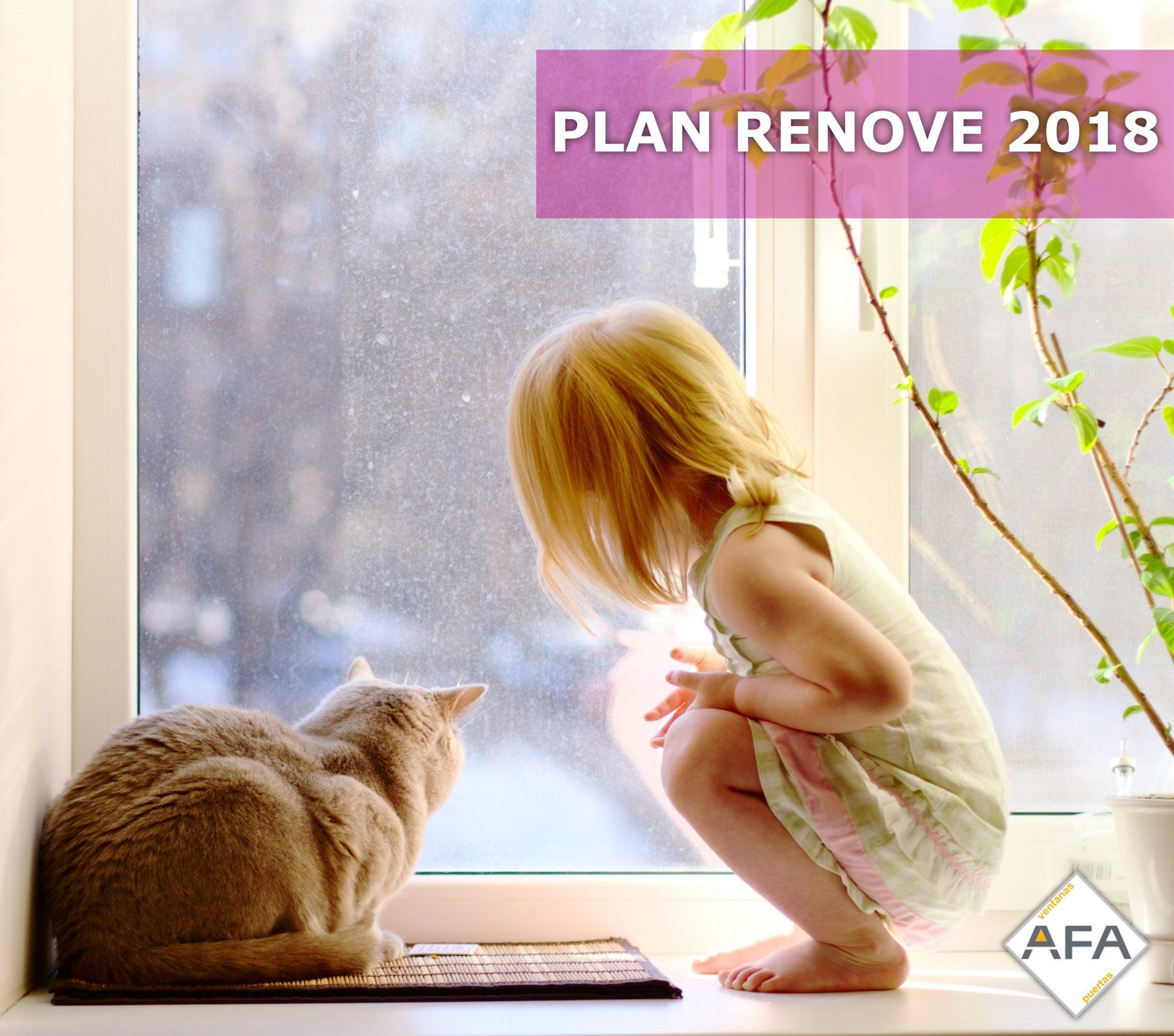 Plan Renove de Ventanas 2018
