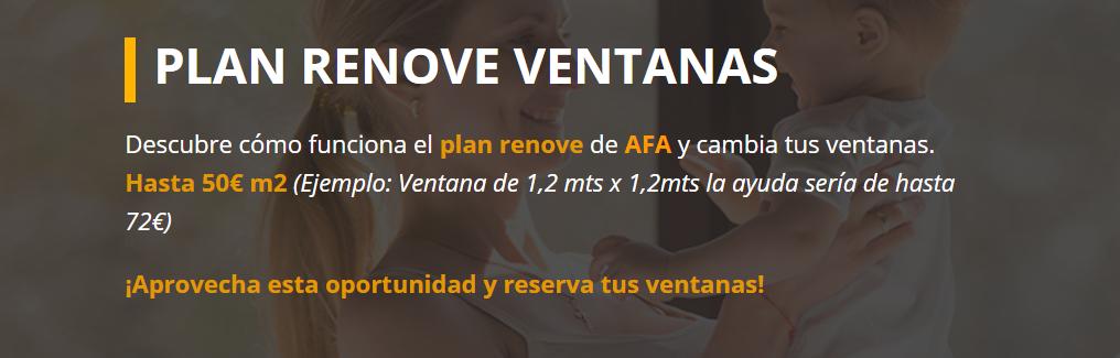 Plan Renove Ventanas 2021