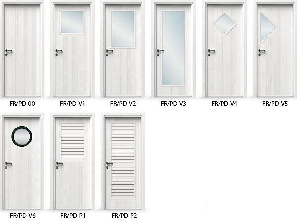 Puertas interior pvc modelos